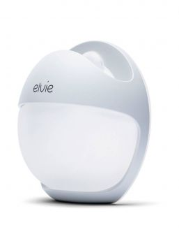 Elvie Curve is a wearable, silicone breast pump that uses natural suction to enable comfortable, hands-free expression - quietly and unnoticeably.