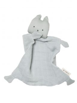 Organic cotton Fabelab cat is a wonderful comfort balnket for a baby. It creates a sense of security for the child and also calms.