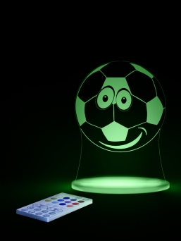 Aloka LED sleepylight with remote (football)