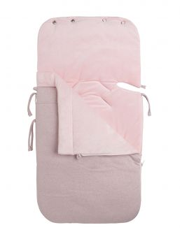 Baby's Only sparkle Footmuff keep baby warm in car seats and baby carriages. Thanks to Footmuff the baby does not need to undress and dress up constantly, the baby stays warm embrace of the bag.