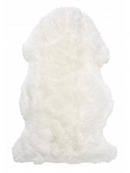 Skinnwille Gently white. Long haired lambskin from Australia.