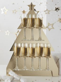 Watch your guests faces light up when they see Ginger Ray Prosecco Stand. Make your very own Prosecco corner that will keep your guests happy.