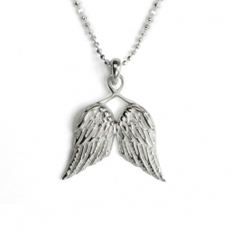 Guardian angel wings necklace - TALES FROM THE EARTH