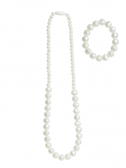 Nursing Necklace and bracelet (pearl)