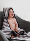 Towel with hood for baby | BABY WALLABY