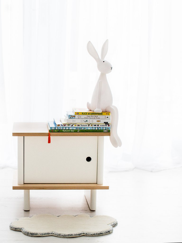 Joseph night light is perfect as a bedside light, sitting happily on your child's shelf or table and giving off a soft, warm glow come night time.