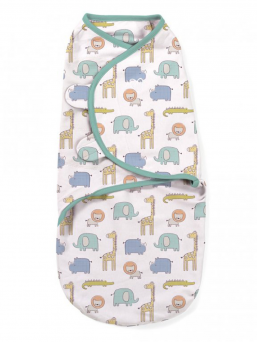 SwaddleMe Wrap 0-3mth (sketchy safary)
