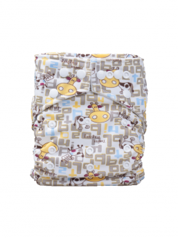 BABYLAND cloth diaper + microterry insert (cows)