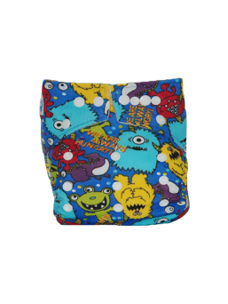 BABYLAND cloth diaper + microterry insert (orcs)