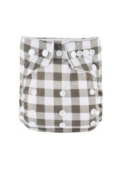 BABYLAND cloth diaper + microterry insert (square)