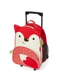 Little kids will love rolling through the airport or to Grandma's with their own Zoo luggage.