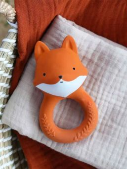 Fox chew toy for baby | A LITTLE LOVELY COMPANY