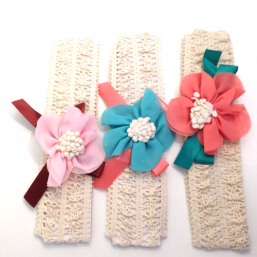 Baby Crochet Headbands (bowflower)