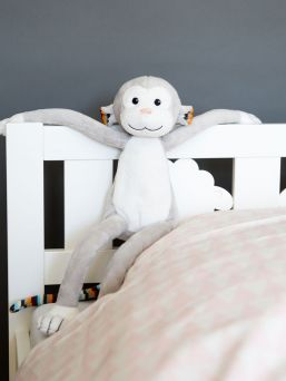 Zazu Max Monkey Soft toys with night light and music box.