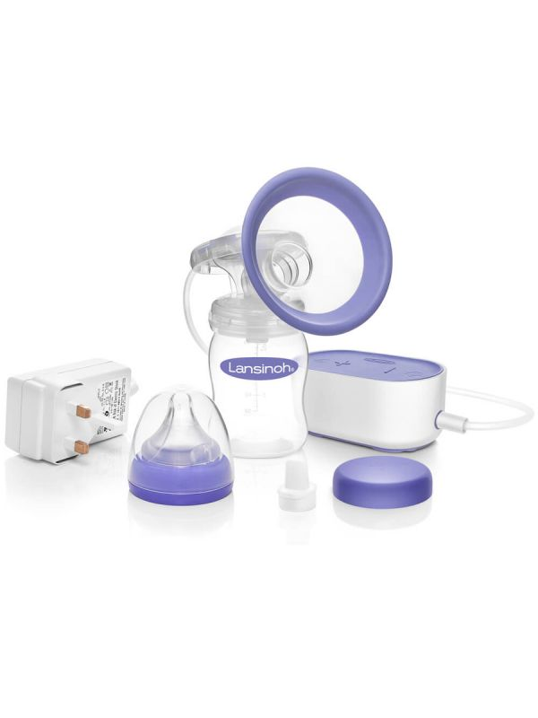 The light and portable Lansinoh Single Electric Breast Pump has been designed for your comfort and with six suction levels, it will allow you to express easily.