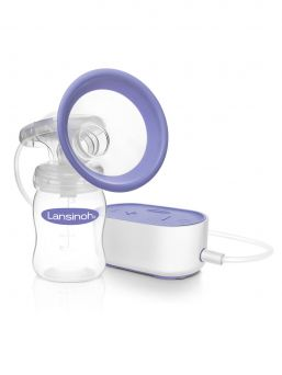 Single electric breast pump | LANSINOH
