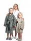 Luin Living soft children's bathrobe that brings hint of luxury home spa in the bathroom. After showering and bath a child can dress themselves in a bathrobe. It is so soft and lovely as promised!