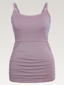 Boob Design Lavender Singlet with doubel function for pregnany and nursing. Adjustable shoulder straps.