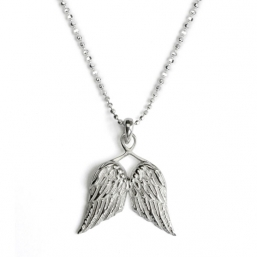 Little guardian angel wings necklace - TALES FROM THE EARTH