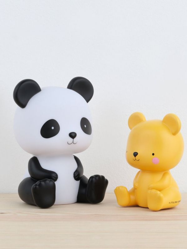 This little A Little Lovely Company bear is oh so lovely and is right at home on your little one's nightstand. The light glows softly and helps your little one fall asleep.
