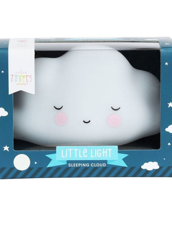 a little lovely company Super cute mini cloud night light for kidsroom.