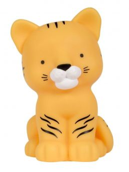 A LITTLE LOVELY COMPANY  This little tiger is oh so lovely and is right at home on your little one's nightstand. The light glows softly and helps your little one fall asleep.