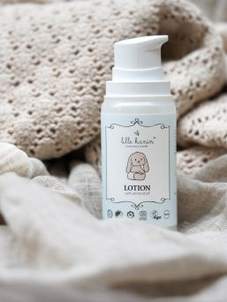 Lille Kanin Lotion is a light cream especially for babies and children.