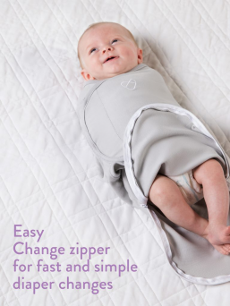 SwaddleMe Wrap 0-3mth (Grey Triangle)