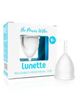 Lunette menstrual cup give you a comfortable, safe, odorless and eco-friendly period for up to 12 hours a day.  Easy to keep clean and lasting for several years, this product basically pays for itself after just 3 months!  Made with soft, medical grade silicon which is BPA and chemical free. It's produced with the highest standards, testing and love.
