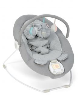The Mamas & Papas Apollo Grey Melange with vibration function and music. Apollo model has also bounce -action mimics a heartbeat for a relaxed atmosphere for baby.