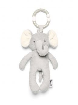 Mamas & Papas Jitter Elephant Soft Vibrating Travel Toy is super soft and the interactive features will entertain your child on long car journeys.
