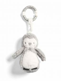 Mamas & Papas Linkie Toy Penguin is super soft and the interactive features will entertain your child on long car journeys.