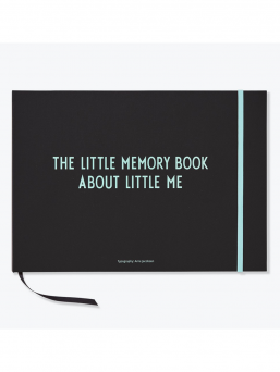 Design Letters The Little Memory book babybook (turquoise)
