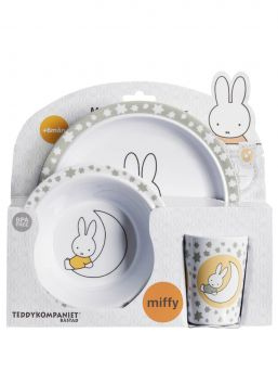 Miffy dining set 6 mth+