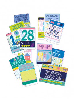 Milestone The Pregnancy and New Born Cards (FIN) | MILESTONE
