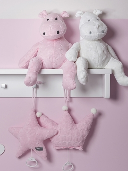 Soft star music box (rosa) | BABY´S ONLY
