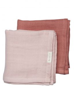 The muslin diapers from FABELAB are available in the nicest and most inspiring colors for the little one.