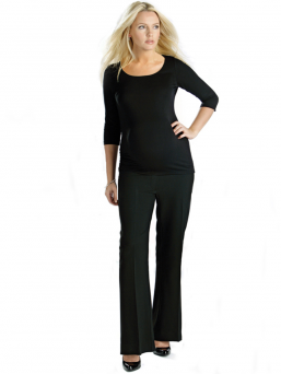 Tailored Maternity Trousers - FUNMUM