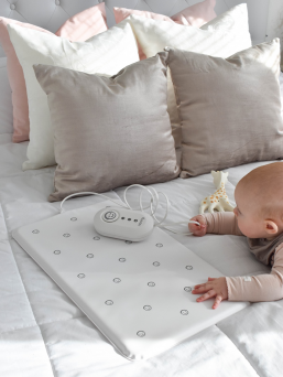 Babys breath monitor NANNY. The only monitor certified as a medical device, and one of the easiest to use, the Nanny Baby Breath Monitor is there to give ultimate peace of mind to new parents.