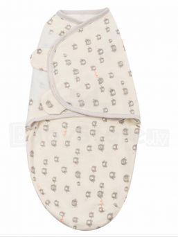 Wrap baby securely for a safer, better sleep with SwaddleMe. Extra soft, adjustable wings provide a perfect snug fit even for wiggly babies.