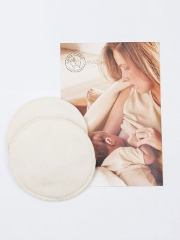 LANACare woolen nursing pads are designed by LANACare especially for breastfeeding mothers. They provide best conditions for successful lasting breast-feeding.