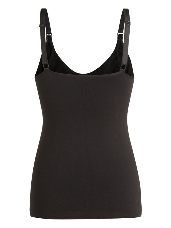 Noppies Seamless Nursing Tanktop with built-in support capable of holding breast pads in place.