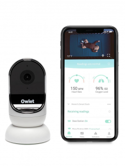 See and hear your baby anytime! Owlet cam is a video baby monitor that transmits HD quality video over a secure wireless network easily and effortlessly.