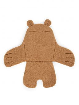 Adorable Childhome Highchair Seat Cushion with Bear Ear. Perfect for a high chair and also suitable for sitters, prams and strollers. Seat belt holes in the seat cushion.
