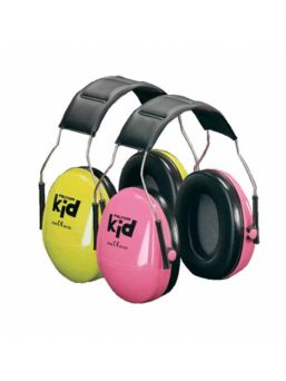 Peltor Earprotectors for kids. Developed for children 0-12 years old. Portable and easy to use.