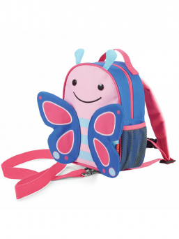 SkipHop Backpack with rein (butterfly)