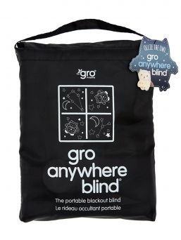 GroAnywhere Blind Stars and Moon, Large - Blackout Blind with Suction Cups