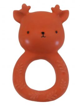 Sweet and practical A Little Lovely Company chew toy. Helps baby with itchy gums when teeth are coming. 100% natural rubber - safe for baby.