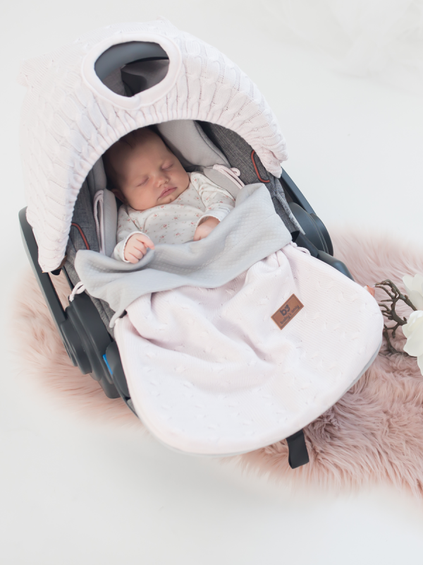 Baby's Only SUMMER Footmuff Maxi Cosi (classic pink)