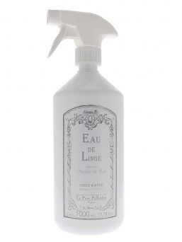 Le Père Pelletier Spray linen water on your laundry before ironing and give them fresh scent.